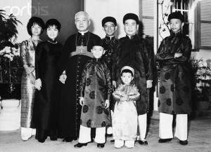 The South Vietnamese Presidential Family